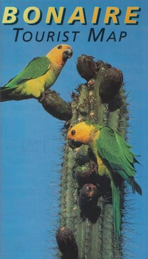 Bonaire Tourist Map 1:60.000