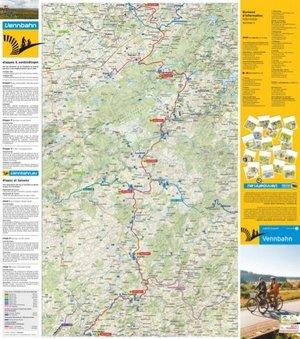 Vennbahn Fietskaart FR / NL