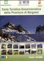 02 Carta Turistico-Escusionistica della Prov. di Bergamo 1:25.000