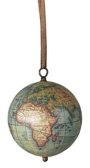 Hangende globe Age of Exploration met lint