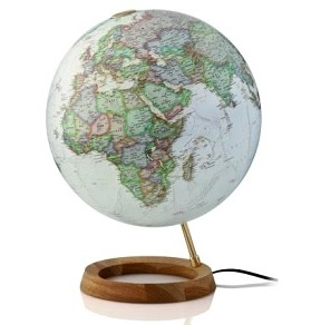 Wereldbol Globe Neon Executive 30cm Nederlands