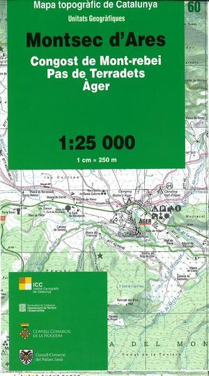 60 Montsec D'ares 1:25.000 Icc Pn