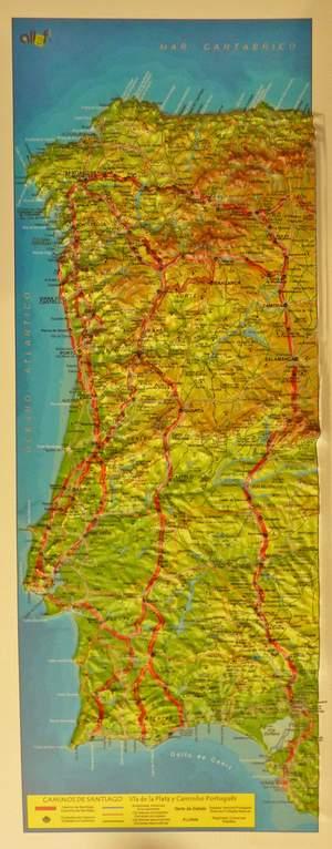 Relief Ruta De La Plata 3d 19x39 Cm