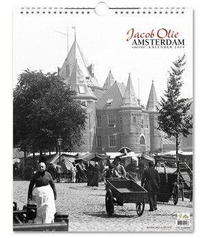 Jacob olie Amsterdam rond 1900 kalender 2020