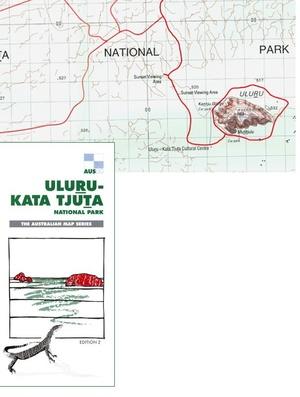 Uluru - Kata Tjuta Np 1:100d Auslig