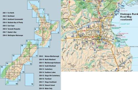 250-5 East Cape 1:250.000