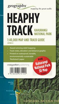 Heaphy Track Kahurangi Np 1:40d