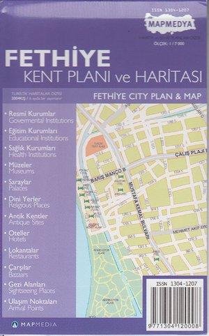 Fethiye Kent Plani 1:7d Mepmedya