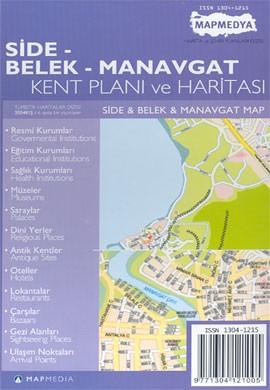 Side Belek Manavgat Stadsplattegrond