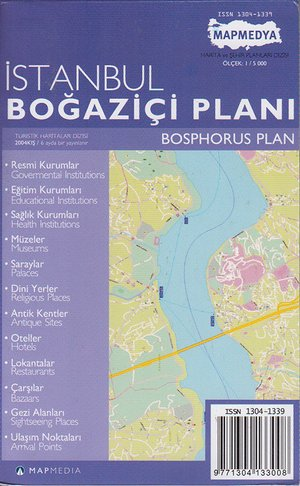 Istanbul - Bosphorus Plan 1:5d