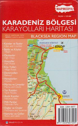 Black Sea Region 1:375d Mepmedya