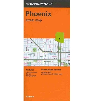 Rand Mcnally Phoenix, Arizona Street Map