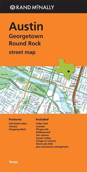 Austin Georgetown Round Rock Street Map