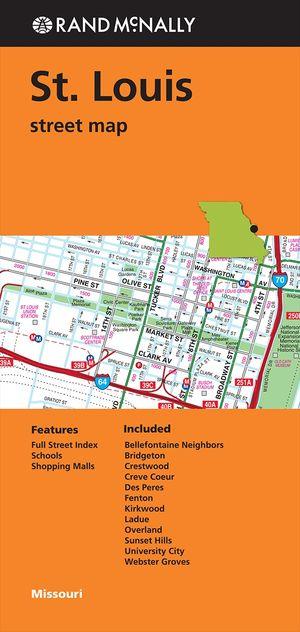 St. Louis Street Map
