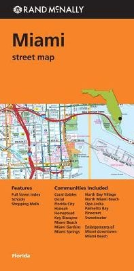 Rand Mcnally: Miami Street Map