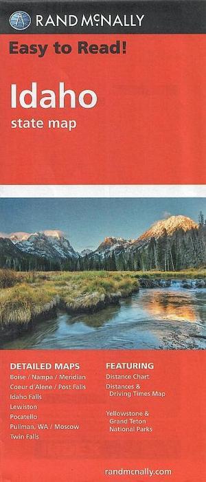 Idaho state map 1:630.000