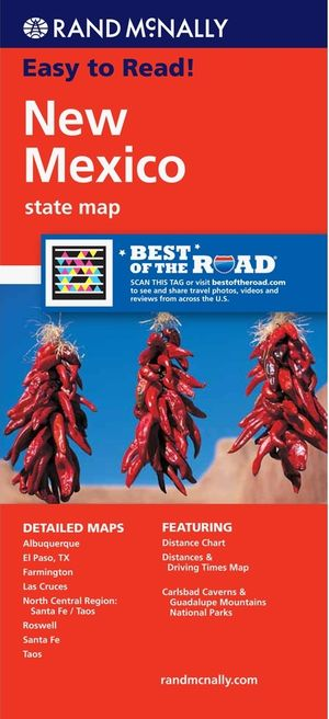 New Mexico State Map