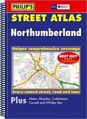 Northumberland Street Atlas Philip`s