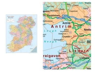 Ireland Wall Map Gm