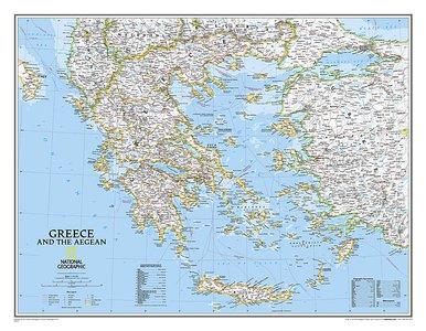 Greece Classic 1:1,45m geplastificeerd