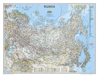 Rusland plano geplastificeerd