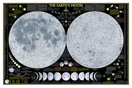 Earth's Moon, Laminated