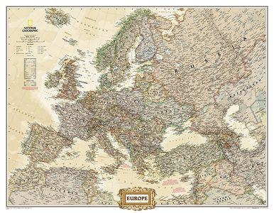 Europe Executive, Enlarged &, Tubed