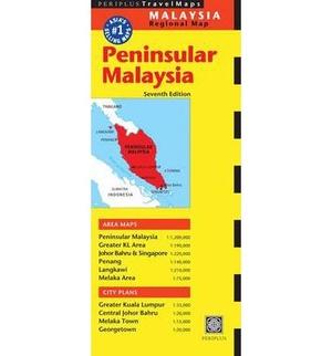 Peninsular Malaysia Periplus Map