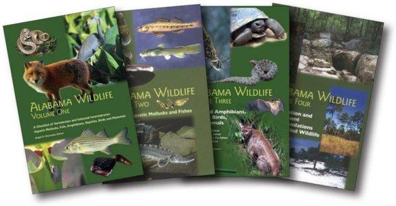 Alabama Wildlife, 4 Volume Set