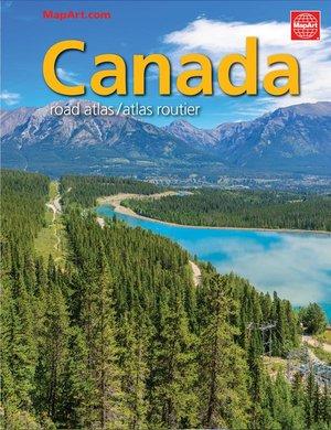 Canada Road Atlas 1:250.000 Mapart