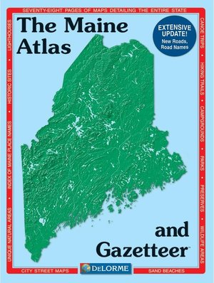 Maine Atlas & Gazetteer