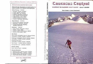 Caucasus Central: Elbruz To Kazbek 1:200.000