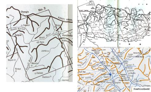 Nepal Himalaya (2) Mid-west Nepal 1:200.000