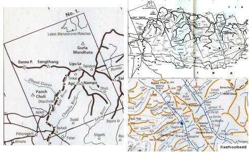Nepal Himalaya (1) Far West Nepal -1:200.000
