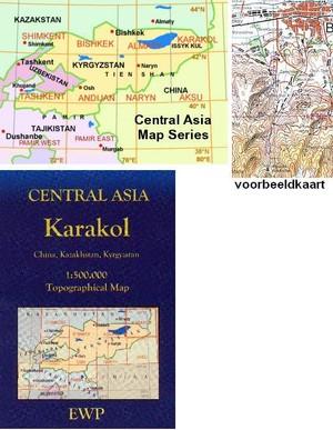 Karakol (kyrgyzstan, Kazakhstan, China) 1:500.000