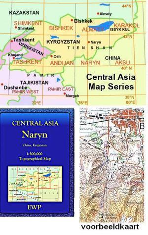 Naryn (kyrgyzstan, China) 1:500.000