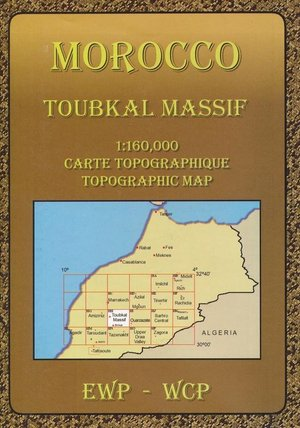 Toubkal Massif 1:160.000
