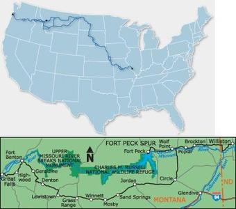 Lewis & Clark Bicycle Trail #4 Bc4004