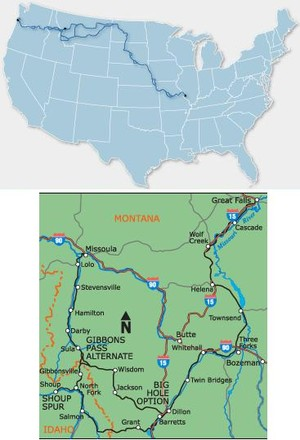 Lewis & Clark Bicycle Trail #5 Bc4005