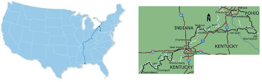 Underground Railroad Bicycle Route #3 Bc-5003