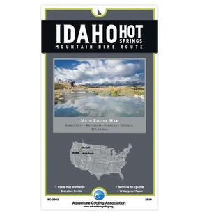 Idaho Hot Springs Mtn. Bike Route Bc-2301