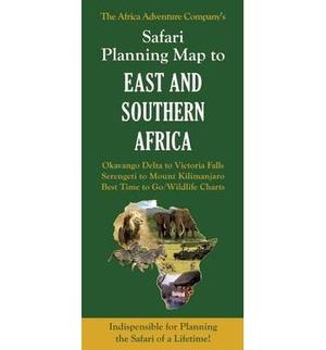 Safari Planner Kaart E&s Africa