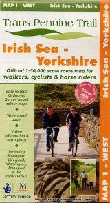 Trans Pennine Trail West Map 1 - Irish Sea To Yorkshire