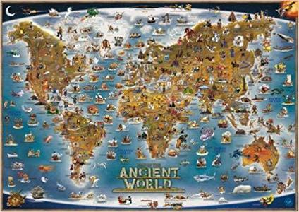 Dino's Children's Map Ancient World