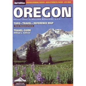 Oregon Topo Travel Reference Map Imus