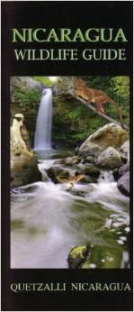 Nicaragua Wildlife Uitvouwkaart