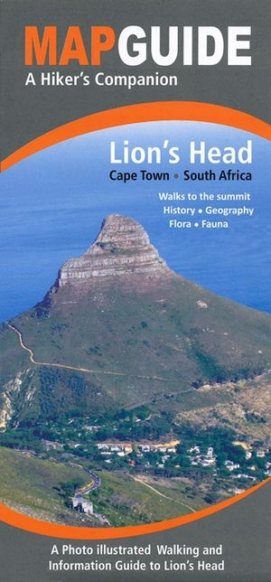 Lion's Head (cape Town) Hiking Map