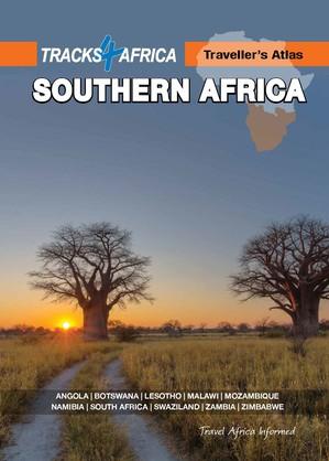 Wegenatlas Zuidelijk Afrika A3  - Traveller's Atlas Southern Africa Tracks4Africa