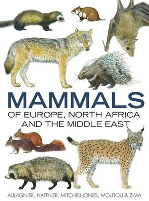 Mammals Of Europe, N Africa, Middle East