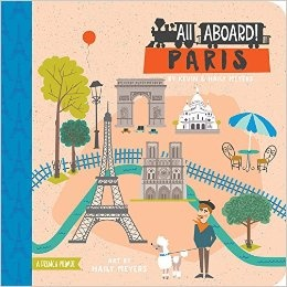 All Aboard Paris! A French P. Kinderboek